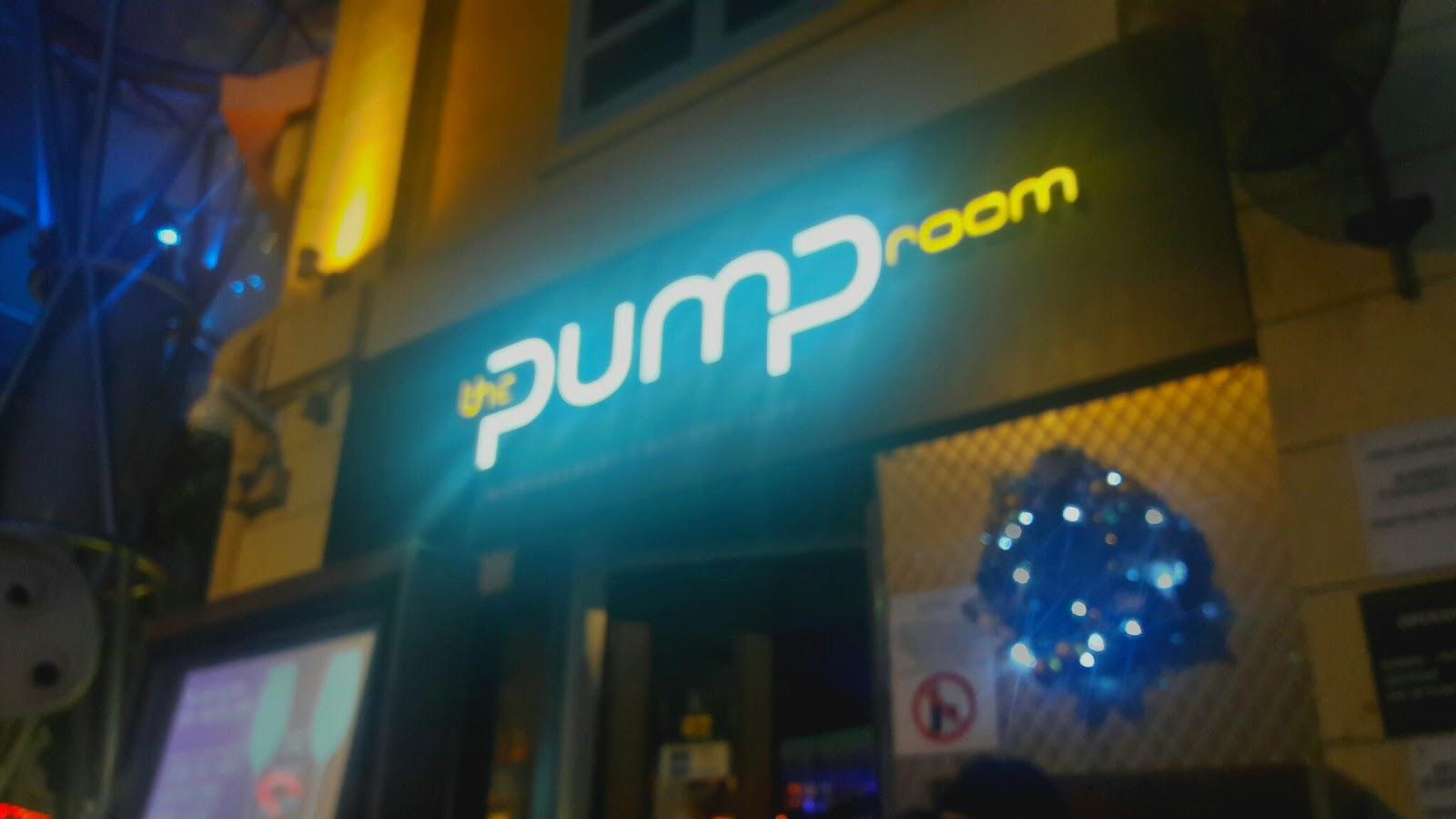 Pump Room Singapore Live Band