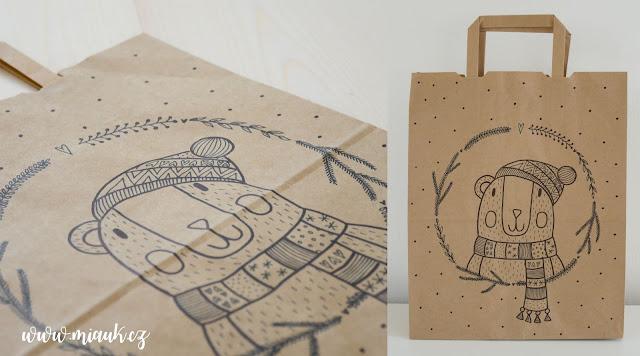 dárkova taška kreslená VÁNOCE