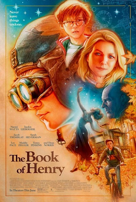 The Book of Henry (El Libro de Henry) (2017) 720p y 1080p WEBRip mkv Dual Audio AC3 5.1 ch