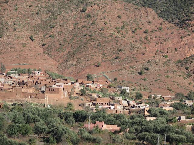 Valle del Ourika (Marruecos)