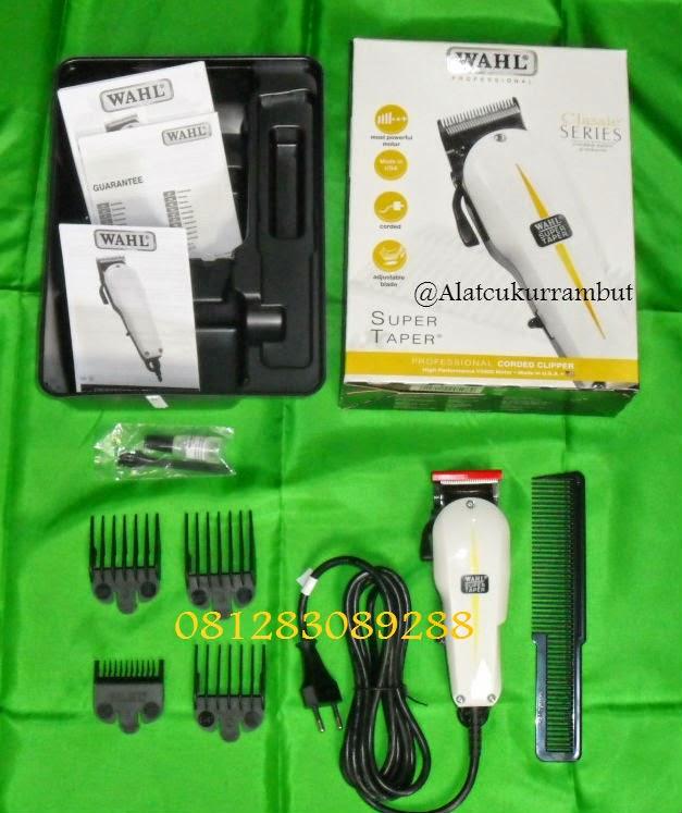 Hair Clipper Wahl Super Taper Classic Series dan Hair Trimmer Wahl ... cb5920a359
