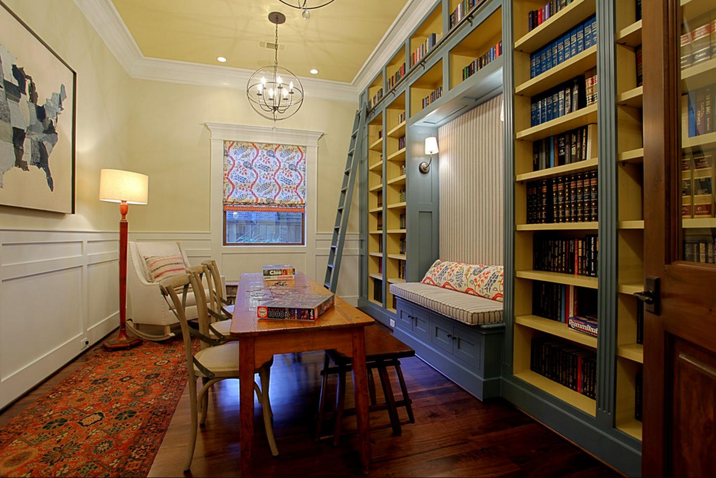 Delorme designs southern living showcase house 2012 houston - Cement showcase designs living room ...