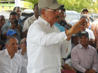 Presidente Dalino Medina realiza visita sorpresa Pedernales