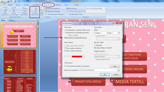Cara Membuat Hyperlink di Power Point 2007 - Panduan