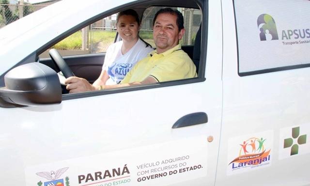 Laranjal: Secretaria de Saúde recebe veículos do Governo do Estado
