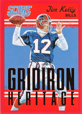 2015 Score Gridiron Heritage Red #18 Jim Kelly