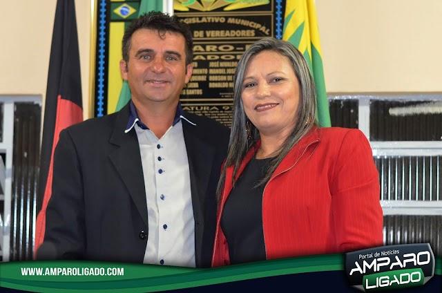 Sessão Solene marca Posse do Vereador Nelson Brito como Presidente da Câmara de Amparo para o Biênio 2019/20