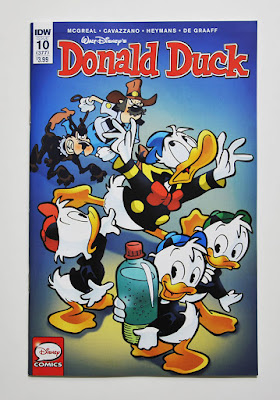"""Donald Duck #377 (IDW's #10) with the story """"Bad Day at Black Water"""""""