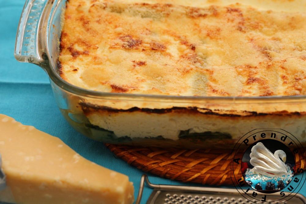 Cannelloni fait maison aux épinards et ricotta