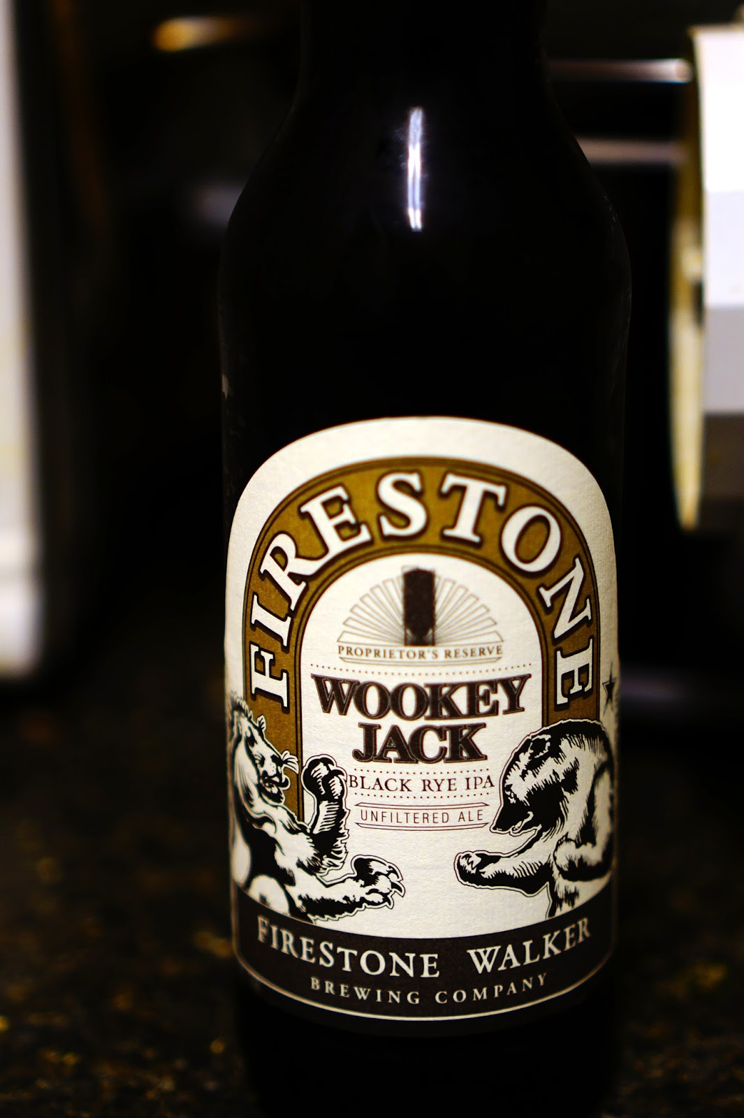 Firestone Walker Wookey Jack bottle