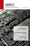 'INÈDITS - Revista de creació literària - Núm. 13 - Gener 2018'