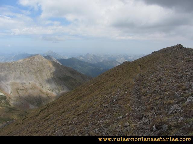 Ruta Ventaniella, Ten y Pileñes: Bajando del Ten