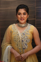 Nivetha Thamos in bright yellow dress at Ninnu Kori pre release function ~  Exclusive (88).JPG