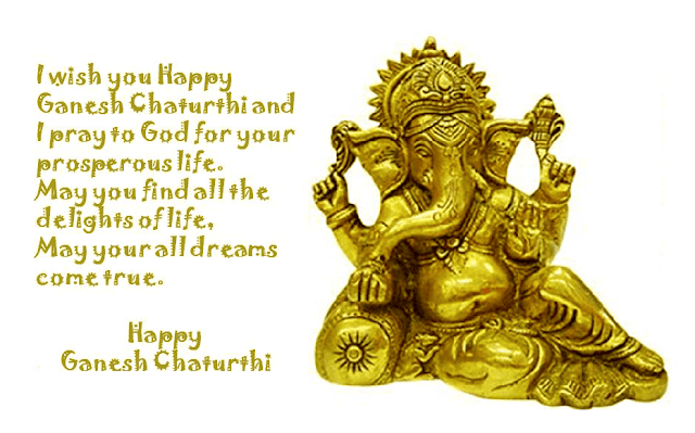 Lord Ganesha Status Quotes Wishes for Whatsapp & FB in Hindi & English