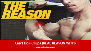 Can't Do Pullups (REAL REASON WHY!)