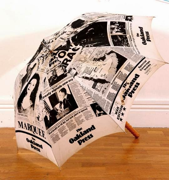 Creative Newspaper Print Inspired Products and Designs (15) 10
