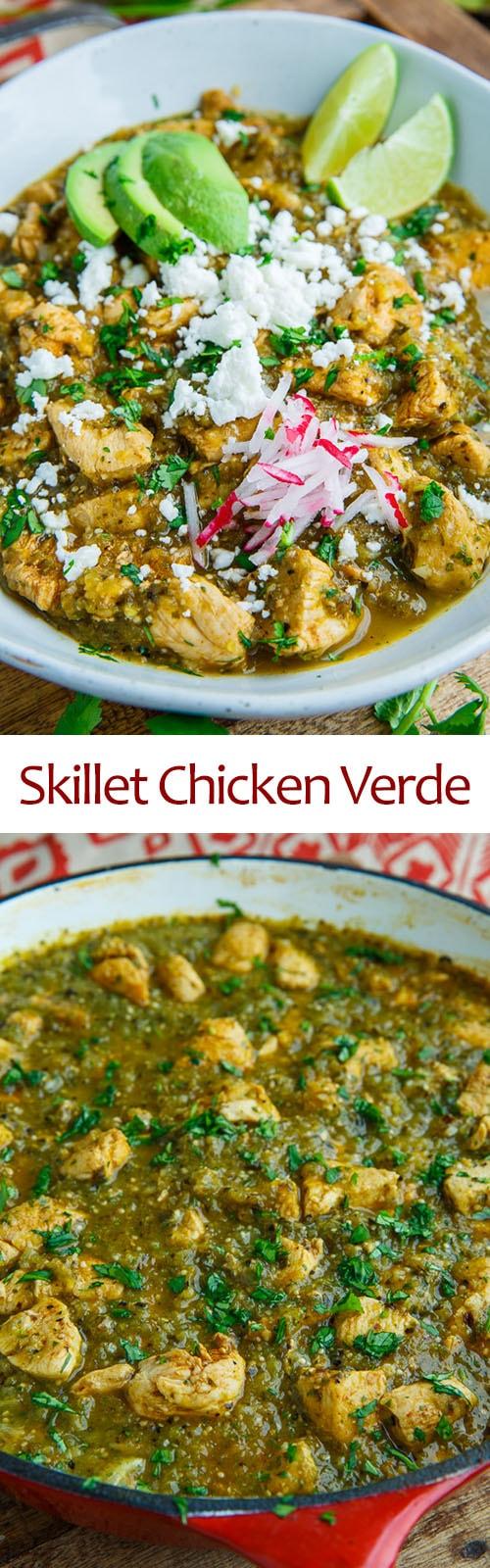 Skillet Chicken Verde