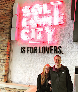 Salt lake city is for lovers sign
