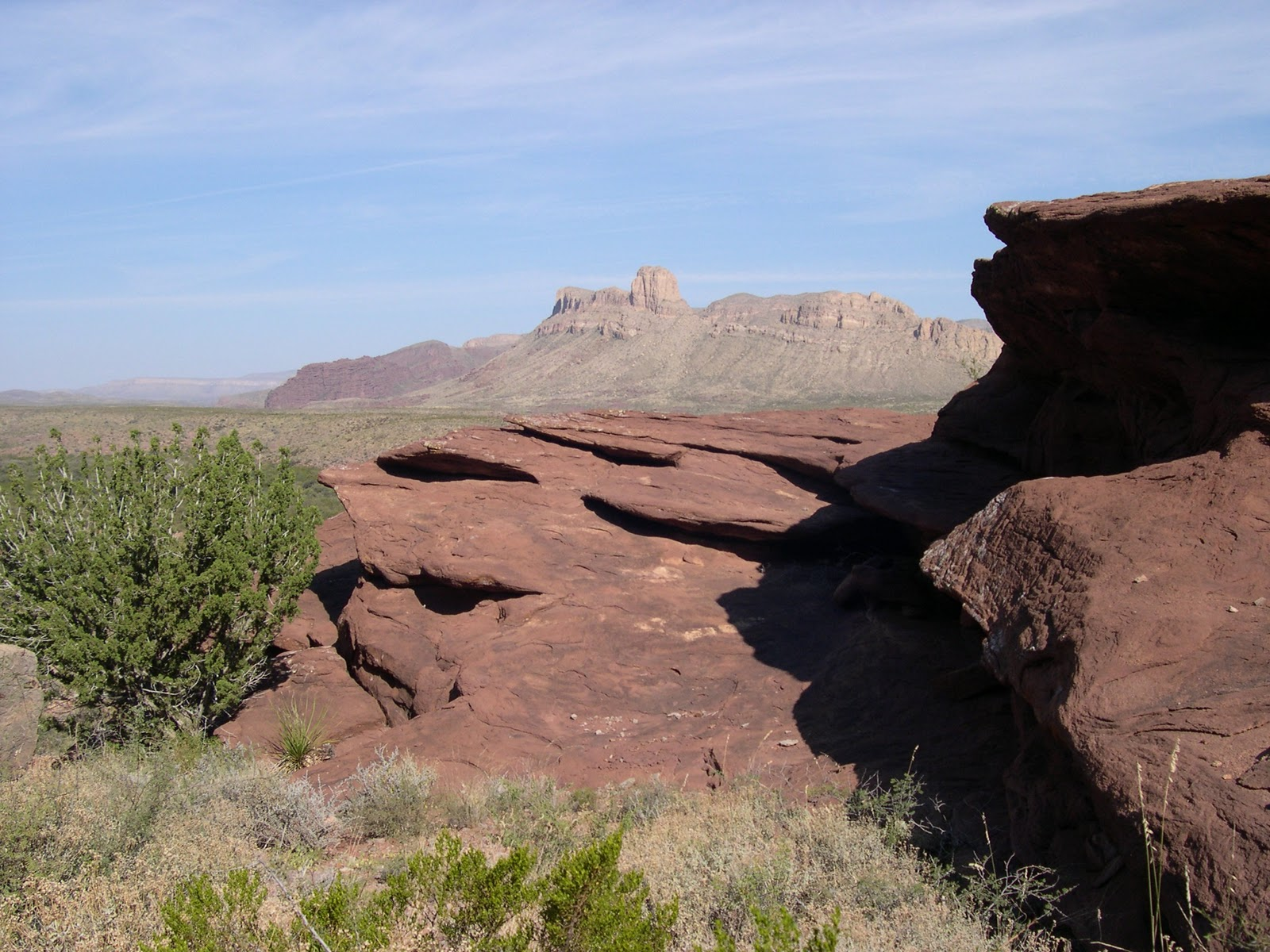 texas red rock