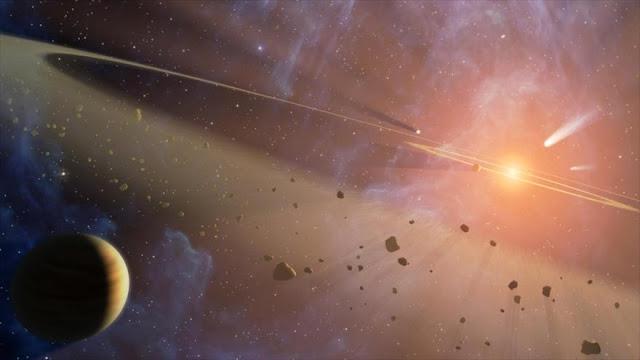 Bombardeos de asteroides fomentaron la vida en la Tierra