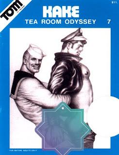Tom of finland Kake 07: Tea Room Odyssey