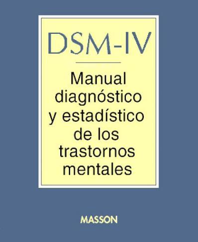 MANUAL DIAGNÓSTICO E ESTATÍSTICO DE TRANSTORNOS …