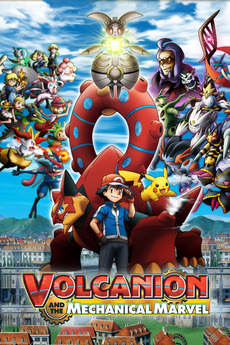 Pokemon the Movie: Volcanion and the Mechanical Marvel (2016) WEBRip