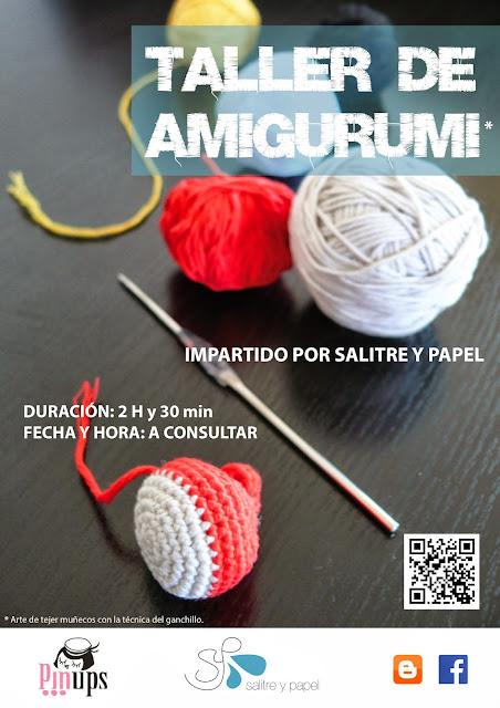 cartel taller amigurumi