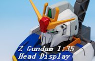 Z Gundam 1:48 Head display