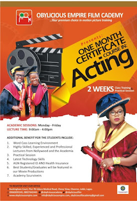 Obylicious Empire Film Academy Flags Off In Lagos