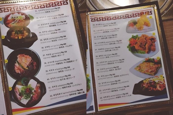 Korean Palace Restaurant Review