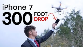 iPhone 7 Case Drop Test From 300 FEET With Drone