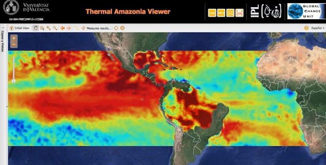 El Nino and global warming combine to cause extreme drought in the Amazon rainforest