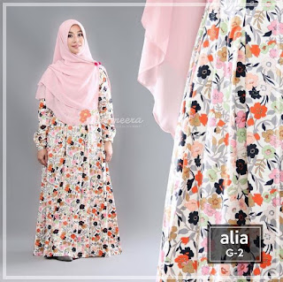 Gamis Yasmeera Alia Dress G2