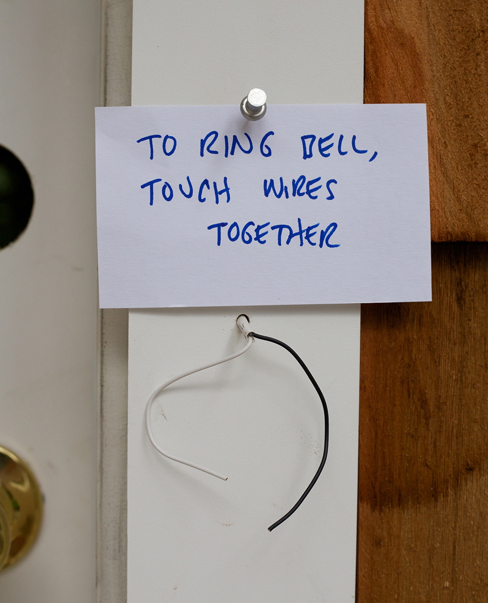 A Picture Each Day  I Need To Buy A Doorbell Button