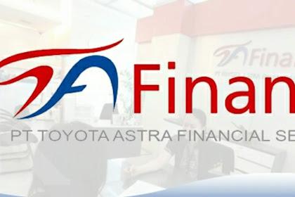 Lowongan Kerja PT Toyota Astra Financial Services (Toyota Astra Finance) Tersedia 2 Posisi Menarik Penempatan Seluruh Wilayah Kerja Indonesia