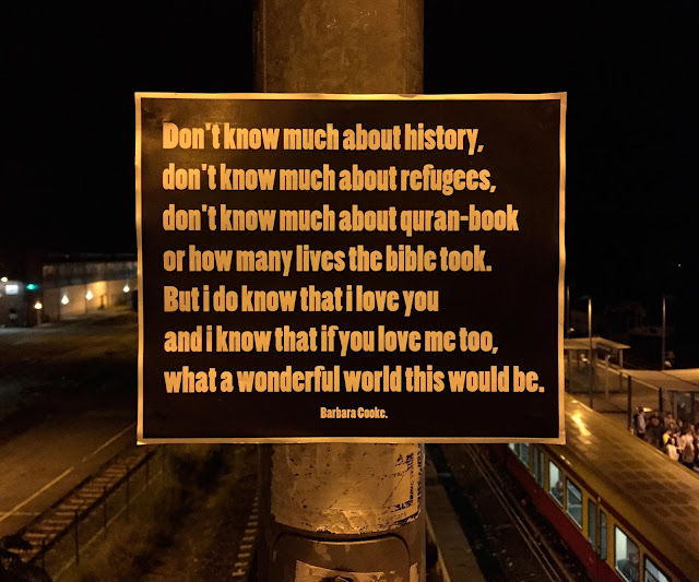 Das Bild des Tages: Don´t know much about history...