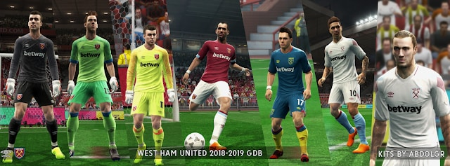 West Ham United 2018/19 kits by AbdoLGR