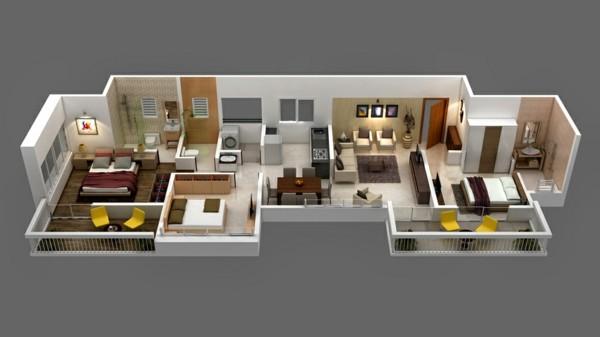 Best Narrow House Plans Ideas On Pinterest Sims House Plans - long ...