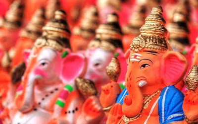 Happy Lord Ganesha HD Photo