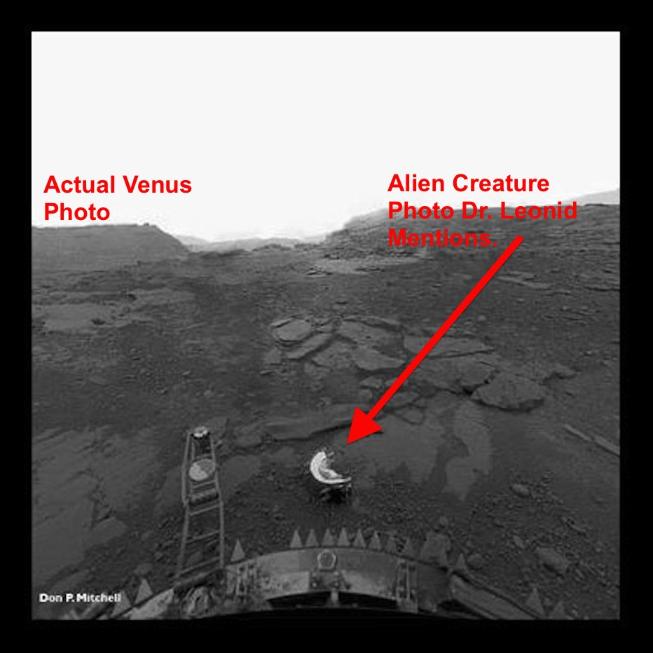 surface of venus russian probe - photo #7