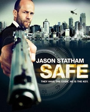 Poster Of Safe (2012) In Hindi English Dual Audio 300MB Compressed Small Size Pc Movie Free Download Only At worldfree4u.com