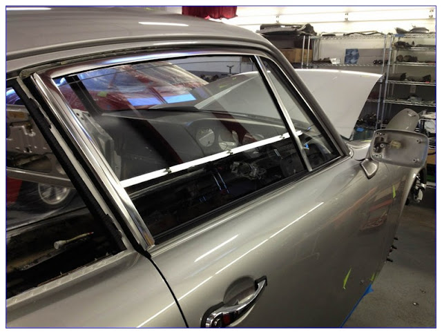 Installing Automotive GLASS In A Frame