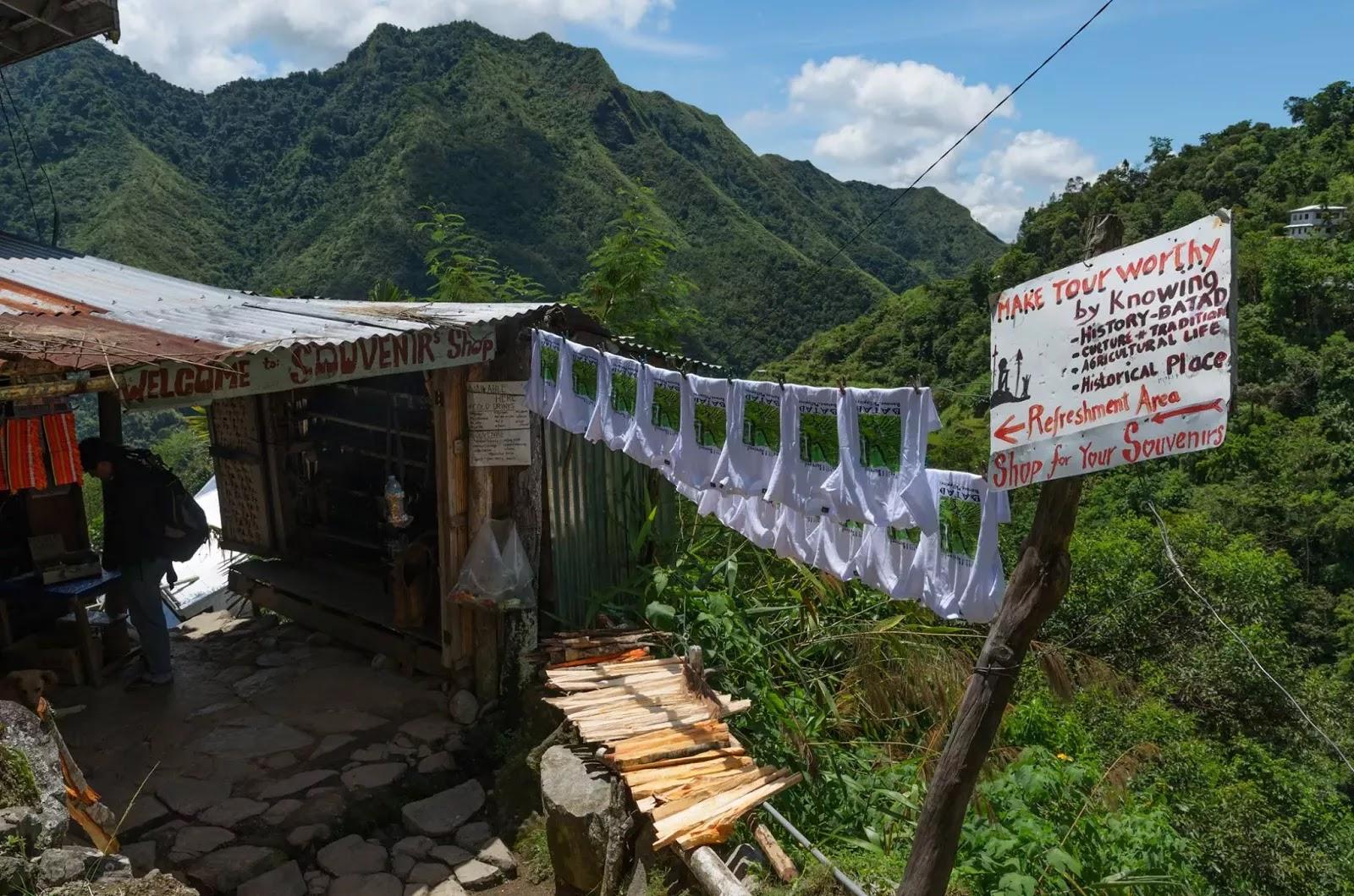 Souvenir  Shop Shed Batad Ifugao Cordillera Administrative Region Philippines