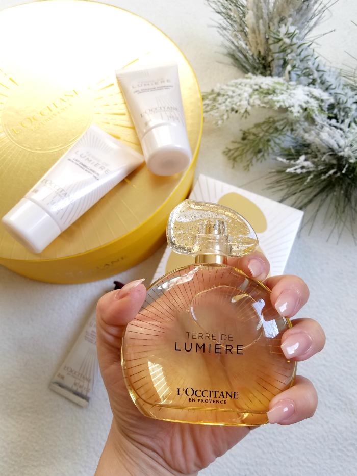 L´OCCITANE - Terre de Lumière Or Gold Edition Geschenkbox & Instagram Gewinnspiel 1