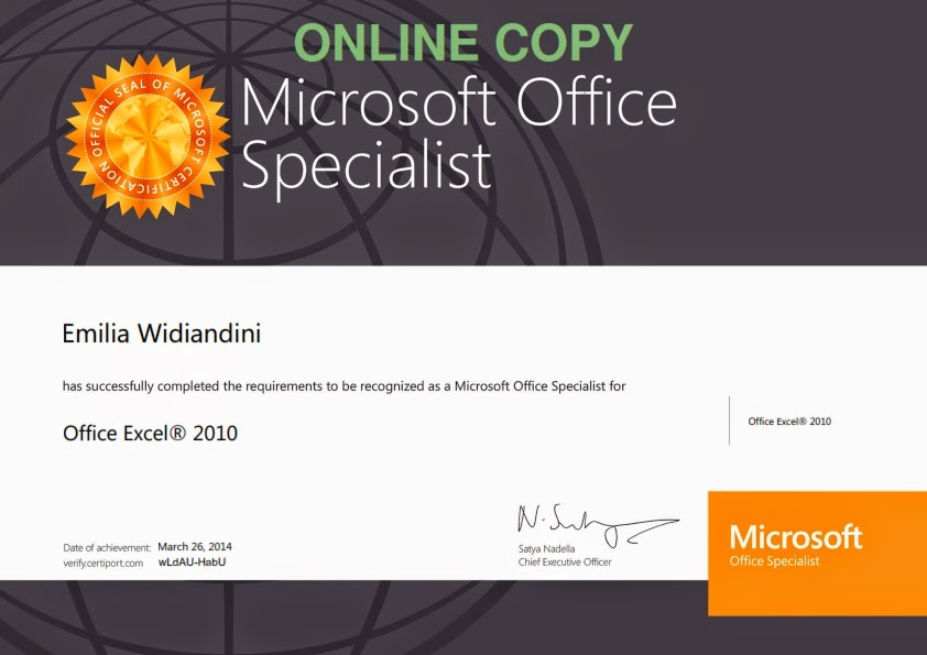 Little Book: Alhamdulillah, I passed Microsoft Office ...