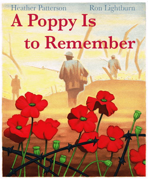 Books for Remembrance Day in K-3. #remembranceday #remembrancedaybooks #gradeonederful #remembrancedayforkids