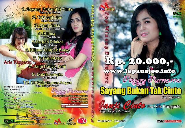 Poppy Purnama - Sayang Bukan Tak Cinto (Album Pop Minang)