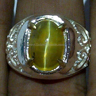 Cincin Batu Opal Cat Eye - ZP 1045