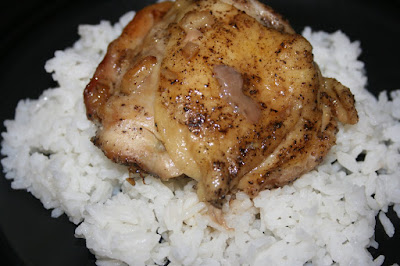 Vietnamese Roasted chicken cooked in the crockpot slow cooker